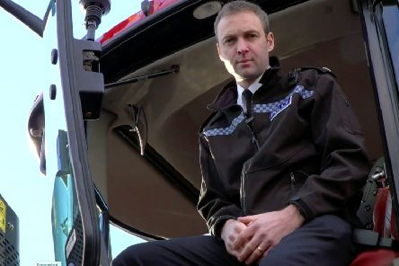 Superintendent Andy Huddleston, from Northumbria Police.