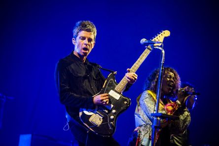 Noel Gallagher at Electric Fields 2018 in Dumfries and Galloway. Photo: Gaelle Beri.