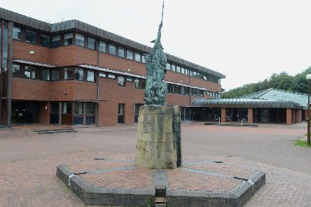 County Hall in Morpeth.