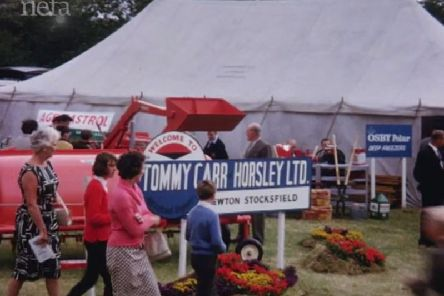 Northumberland County Show in 1964.