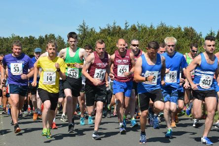 Runners in a previous Druridge Bay 10K. Picture by Judith Hardisty