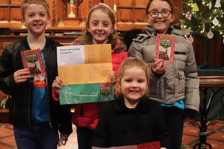Villagers light up homes for Christmas tale