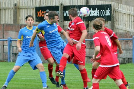 Skipper James Crorken scored in both of Barnoldswick Town's cup defeats