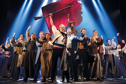 Les Miserables at Manchester Palace Theatre