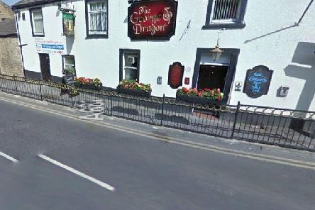 The George and Dragon pub in Barrowford, close to where a road accident happened this morning.