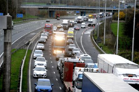A slow-moving abnormal load could cause delays on the M6 this weekend.