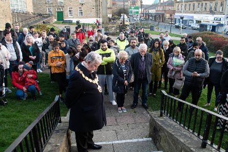 People of all faiths gather in Brierfield to honour the victims of the New Zealand terror attacks.