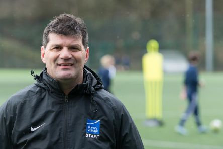 Andy Payton - former Burnley FC professional footballer, UEFA A qualified coach, and one of the inspirational leaders of the successful Academy of Sport - at Burnley College.