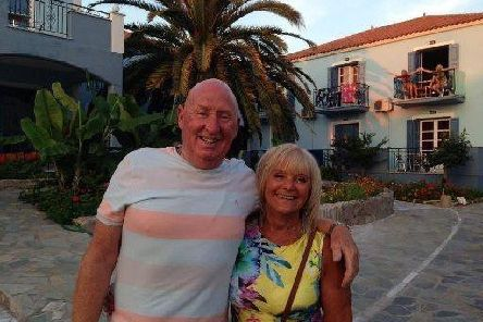 John and Susan Cooper who died while on holiday in Egypt one year ago.