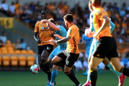 Ashley Barnes gives Burnley the lead against Wolves at Molineux
