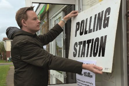 Anyone wishing to vote in the election needs to be on the electoral register.