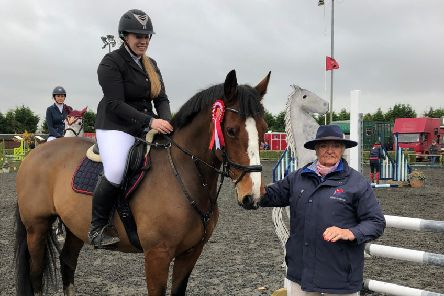 Amy Sharrat from Market Weighton and 14 year old Ublesco Gold claimed first place.