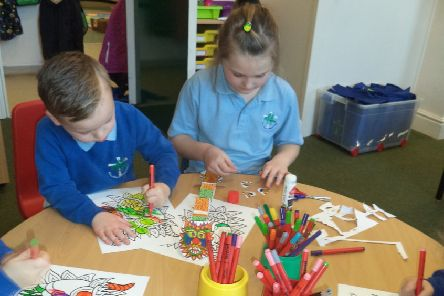 Bishop Wilton Primary School pupils took part in various activities to celebrate the Chinese New Year.