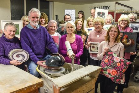 Artists from across the Pocklington and district area will be raising funds for the British Legion during May's open studios event.