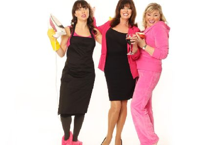 The cast of Hormonal Housewives
