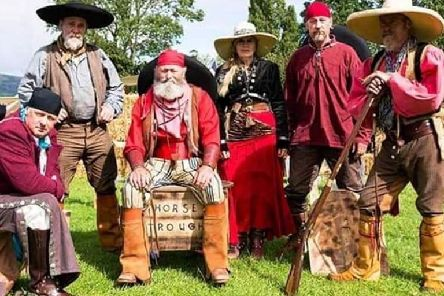 The Lonestar Old West Re-enactment Group.