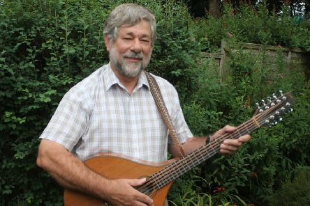Hull University lecturer Peter Halkon will have a double role at the event as both archaeologist and musician.