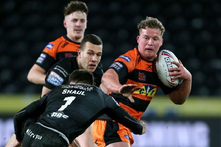 Castleford Tigers' Adam Milner: Ready for the challenge.