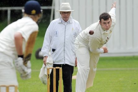 Richie Bresnan: Three wickets for Townville.