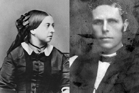 Queen Victoria and a young William Walsham How. New evidence suggests that the Queen had a fondness for the Bishop, who she referred to as a most charming excellent man.