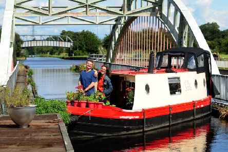For the past 18 months, Sydney Thornbury has called the Aire and Calder Navigation her home.