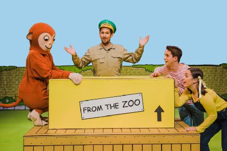 Kids' favourite Dear Zoo hits the stage soon at Mansfield Palace Theatre