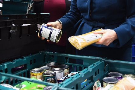 Use of food banks is still rising in Nottinghamshire