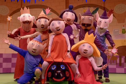 See Ben and Holly's Little Kingdom at Mansfield Palace Theatre