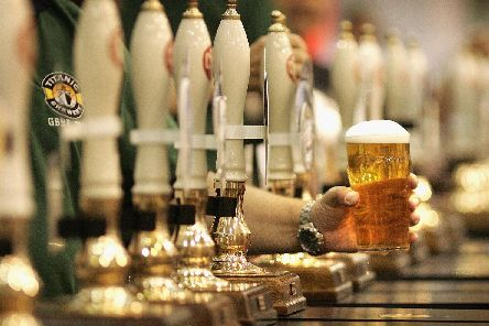 There was a drop in pub trade last year. Photo by Peter Macdiarmid/Getty Images.