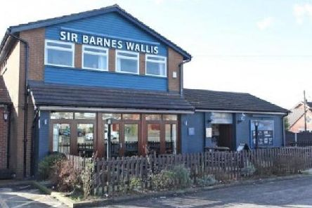 The Sir Barnes Wallis pub in Ripley , which is set to be bulldozed to make way for housing.
