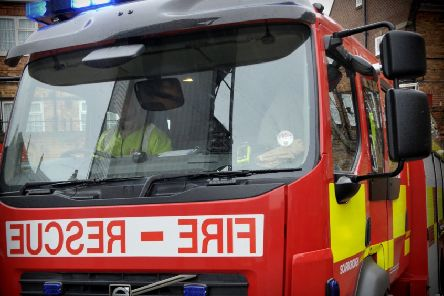 Firefighters tackle microwave blaze at Ripley home
