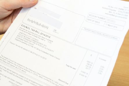 Shocking increase in council tax