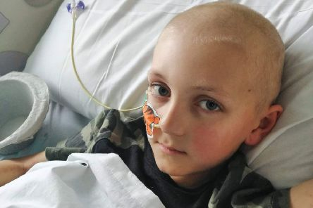 Friends and neighbours have launched a fundraising campaign to help the family of Belper boy Finley Becket, eight, as he receives treatment for acute myeloid leukaemia