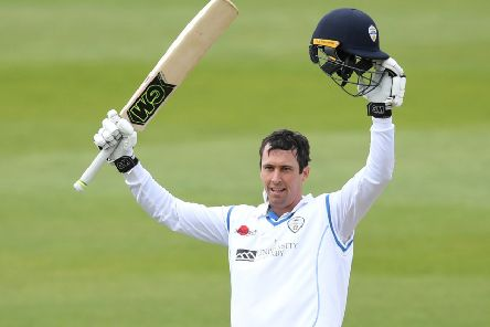 Wayne Madsen hit a fine 204 not out for Derbyshire on the final day at Gloucestershire. (Photo by Gareth Copley/Getty Images)