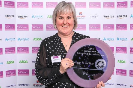 Allison Kemp was crowned Woman of the Year at the 2019 everywoman in Transport & Logistics Awards.