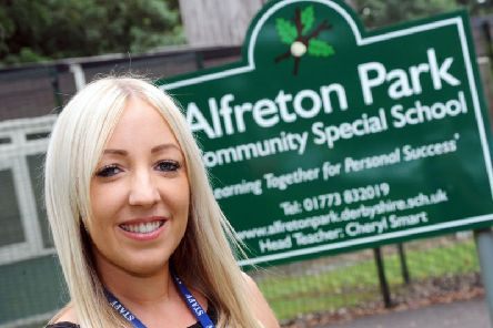 Josie ODonnell, a teacher at Alfreton Park Community Special School, is offering Makaton training to organisations across Alfreton.