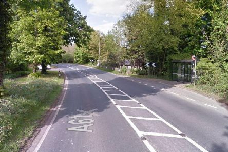 It is believed that the 86-year-old woman was crossing the road from the bus stop