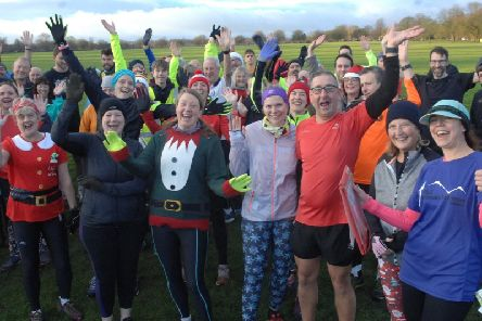 Popular event - Some of the hundreds of entrants in the Harrogate Parkrun pictured on the Stray on Saturday, December 22, 2018. (1812221AM11)