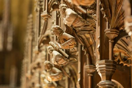 A 100,000 project has been launched to preserve medieval carvings of national significance in Ripon. Picture: Joseph Priestley.