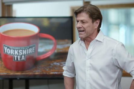 Sean Bean appearing in the Yorkshire Tea advert. Credit: Taylors of Harrogate.