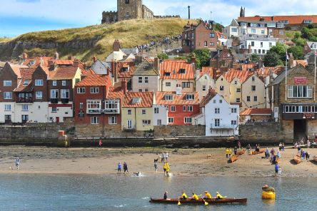 Whitby harbour. Picture: Gary Longbottom.
