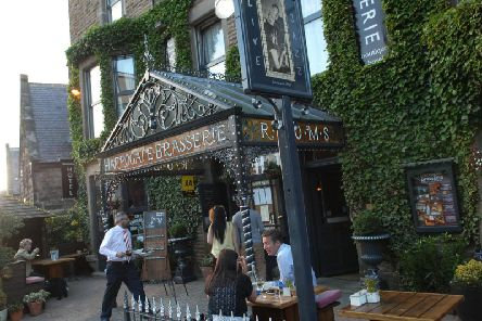 Closing for refurbishment and a change of direction - The well-known Harrogate bar-restaurant Harrogate Brasserie.