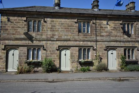 Two Grade II listed Ripley Estate Cottages with planning permission to extend are being auctioned with a guide price of �175,00 each.