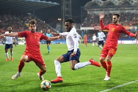 England's Danny Rose in action against Montenegro. Picture: Michael Regan/Getty Images