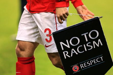 Move against racism in football