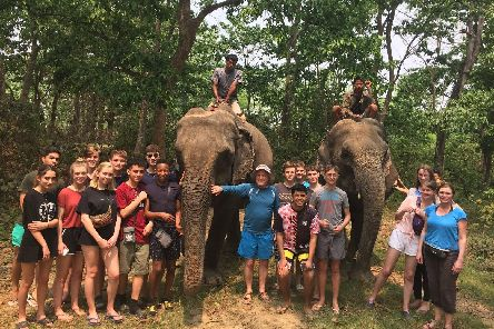 Fifty staff and students from Birkdale School have visited Nepal for their 19th annual trip to the country.