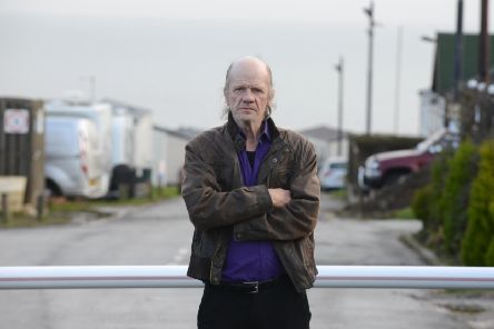 Lizard Lane Caravan Park resident Geoff Lynch angry over new owners site fees.