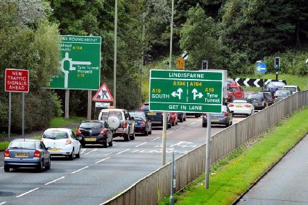 A man is due to appear in court after a crash at the Lindisfarne roundabout in Jarrow.