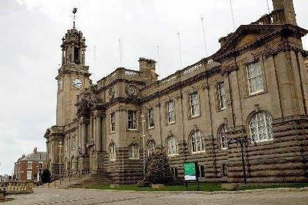 The meeting was held at South Shields Town Hall