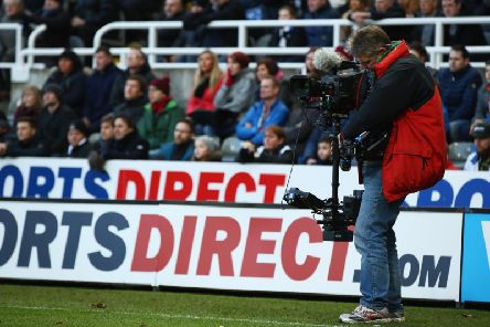 The TV cameras are taking over Newcastle United in April